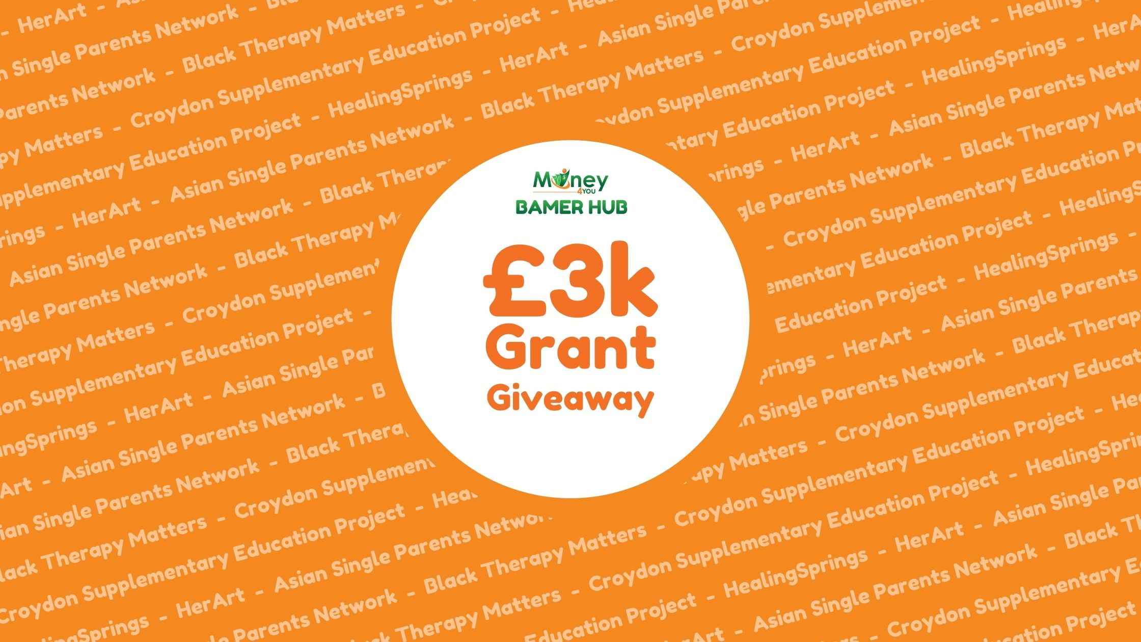 £3K Grant Giveaway